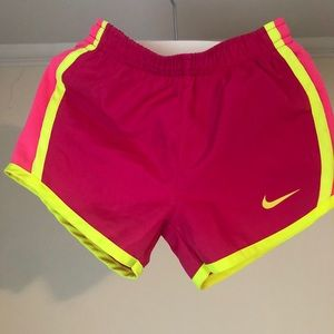 Nike dry fit girl's shorts 3-4T